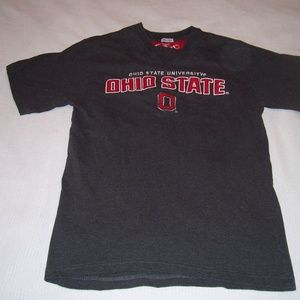Ohio State Embroidered  S/S Tee Shirt
